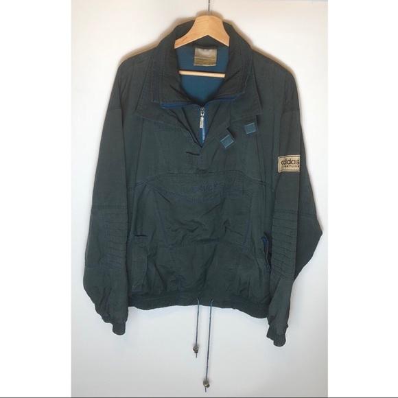 Vintage Mens Adidas Adventure pullover jacket Med